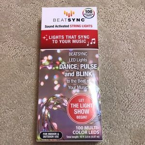 FREE W/any purchase Lights